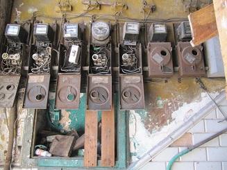 Elektrik eines Wohnhauses in Habana
